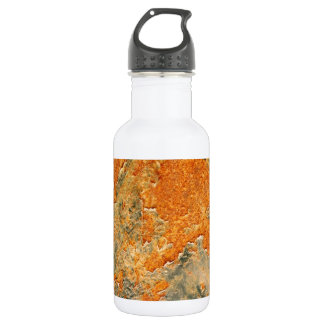 Old Rusted Corroded Iron Metal 532 Ml Water Bottle