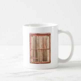 Old Rustic Railroad Train Car Door Mug