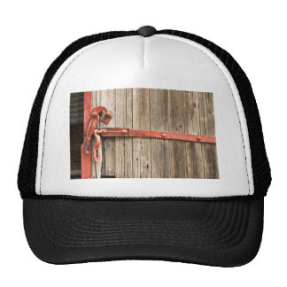 Old Rustic Railroad Train Door Hats