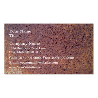 Old Rusty Metal Texture Business Card