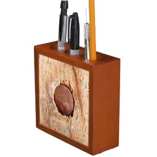 Old Rusty Nail Desk Organiser