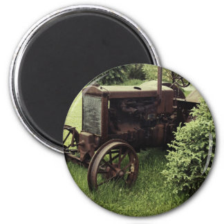 Old Rusty Tractor Magnet