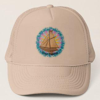Old Sailboat custom name Hat