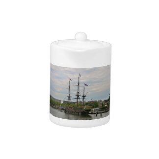 Old sailing ship, Amsterdam, Holland