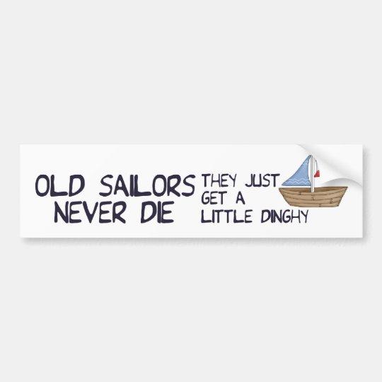 Old Sailors Bumper Sticker