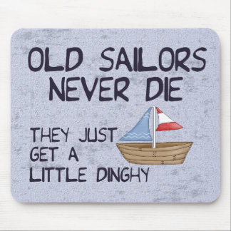 Old Sailors Mouse Pads