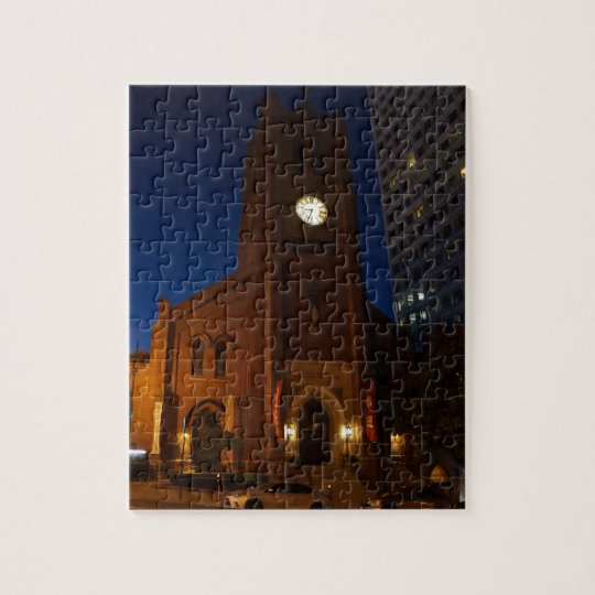 Old Saint Mary's Cathedral Jigsaw Puzzle