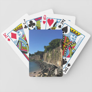 Old San Juan Historical Site Bicycle Playing Cards