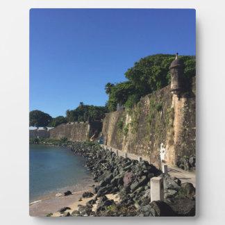 Old San Juan Historical Site Display Plaque