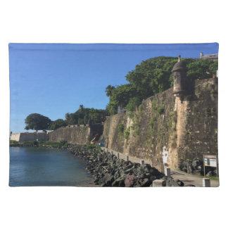 Old San Juan Historical Site Placemat