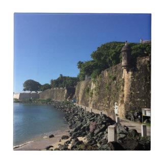 Old San Juan Historical Site Tile