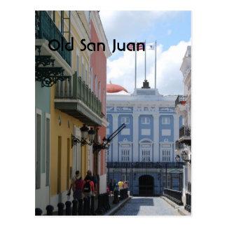 Old San Juan Postcard