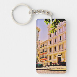 Old San Juan, Puerto Rico Key Ring