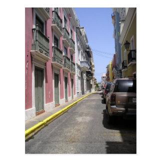 Old San Juan, Puerto Rico Postcard