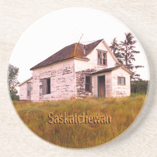 Old Saskatchewan Ghost House Coaster