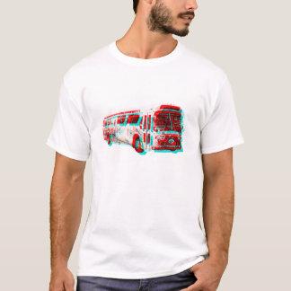 Old School 3D AC Transit Bus t-shirt