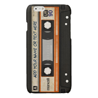 Old School 80s DJ Music Cassette Tape Pattern