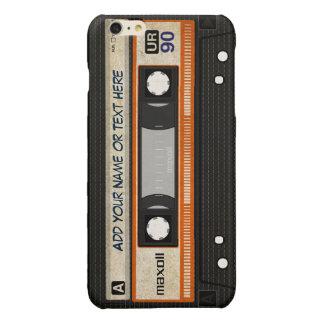 Old School 80s DJ Music Cassette Tape Pattern