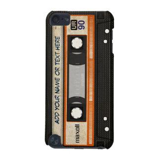 Old School 80s DJ Music Cassette Tape Pattern iPod Touch (5th Generation) Case