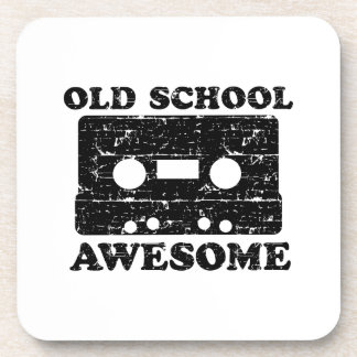 Old School Awesome Beverage Coaster
