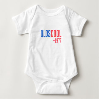 old school baby bodysuit