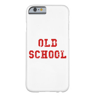 Old School Barely There iPhone 6 Case