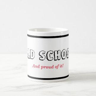 Old School Black Framed Coffee Mug