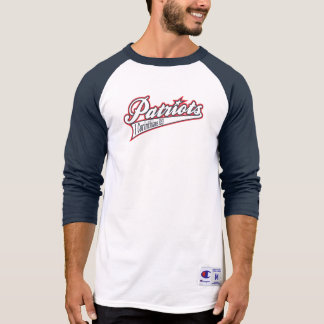 Old School Blue/White Raglan T-Shirt
