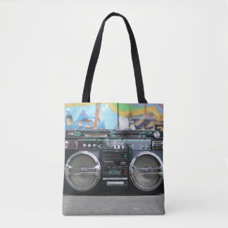 Old School Boom Box Radio Bag