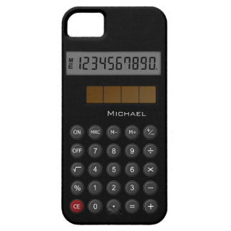 Old School Calculator iPhone 5 Cases