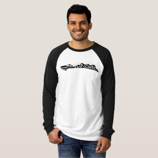 Old School Camaro - Men's Raglan T-Shirt