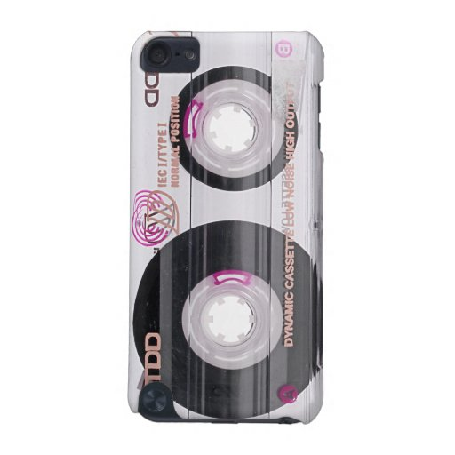 Old school cassette tape iPod touch 5G covers