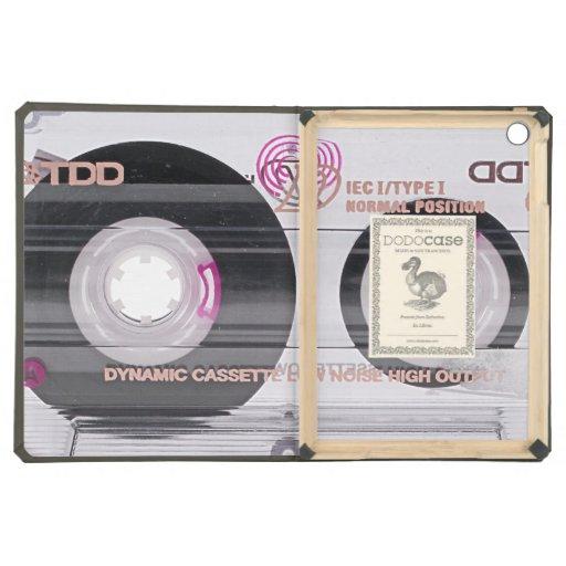 Old school cassette tape iPad air cases
