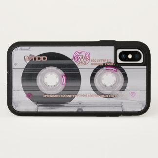 Old school cassette tape iPhone x case