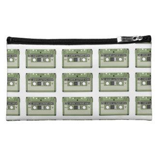 Old school cassette Tape Makeup Bag