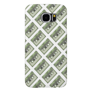 Old school cassette Tape Samsung Galaxy S6 Cases