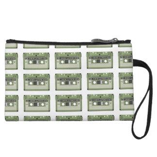 Old school cassette Tape Wristlet