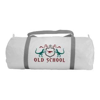 Old School Color Dinosaur Gym Duffel Bag