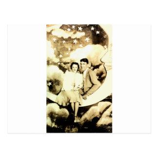 Old School Dance Picture Postcard