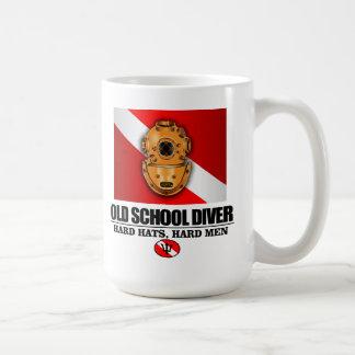 Old School Diver Coffee Mug