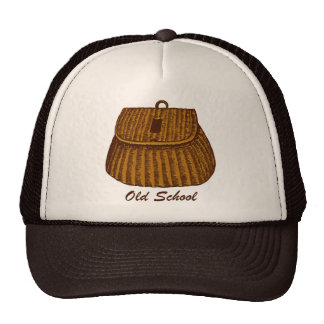 Old School Fishing Creel Trucker Hat