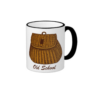 Old School Fishing Creel Coffee Mug