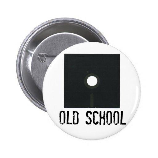 Old School Floppy Disk Pin