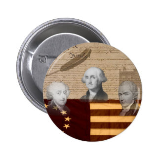 OLD SCHOOL FOUNDING FATHERS PINBACK BUTTON