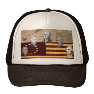 OLD SCHOOL FOUNDING FATHERS MESH HAT