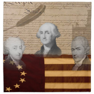 OLD SCHOOL FOUNDING FATHERS NAPKINS