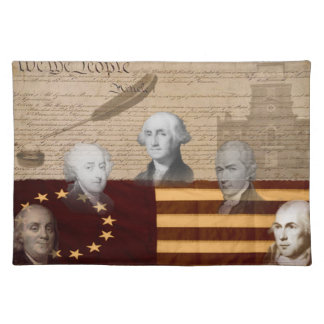 OLD SCHOOL FOUNDING FATHERS PLACE MATS