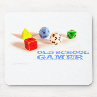 Old School Gamer • Mousepad