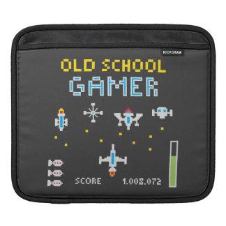Old School Gamer - Rickshaw Sleeve Sleeve For iPads