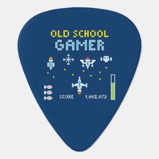 Old School Gamer - Stellarship - Guitar Pick